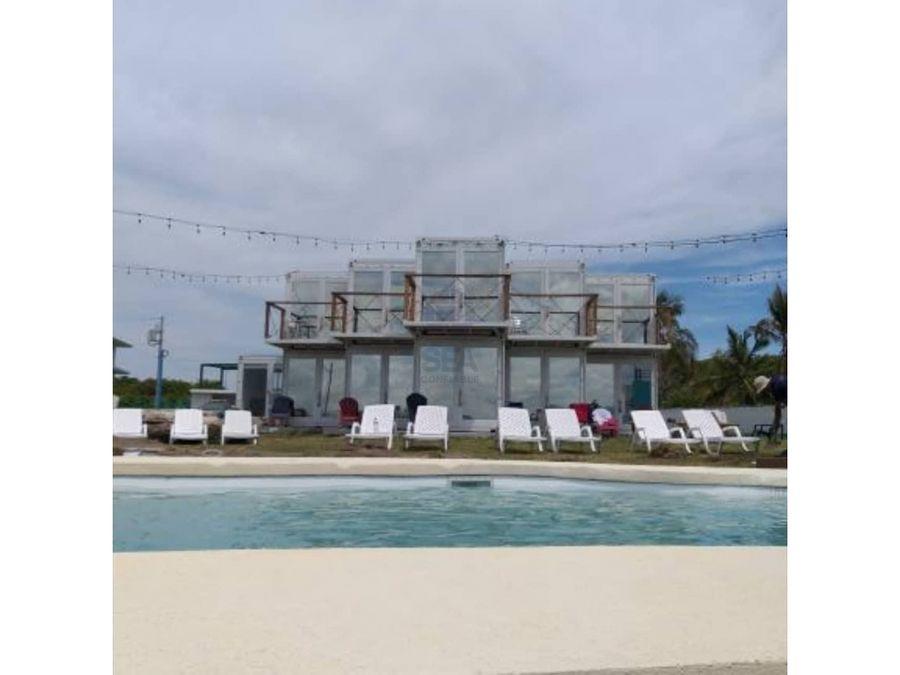 sea confiable vende hotel playa boutique en punta chame
