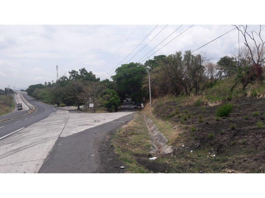 venta terreno fte a hacienda pacificasan carlos
