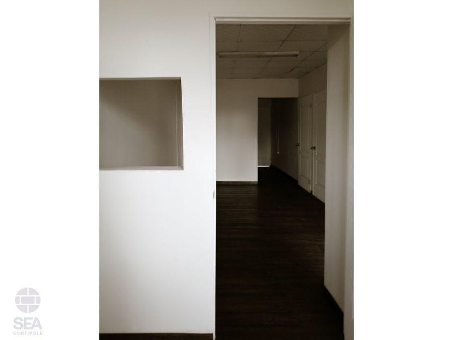 alquilo oficina en via porras 100 m2