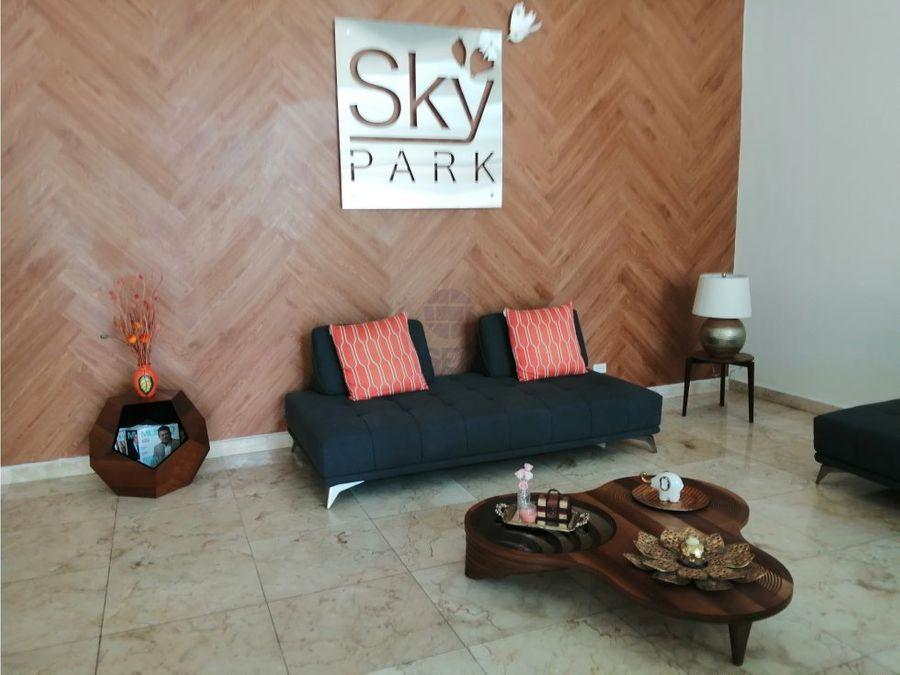 se alquila apartamento en sky park