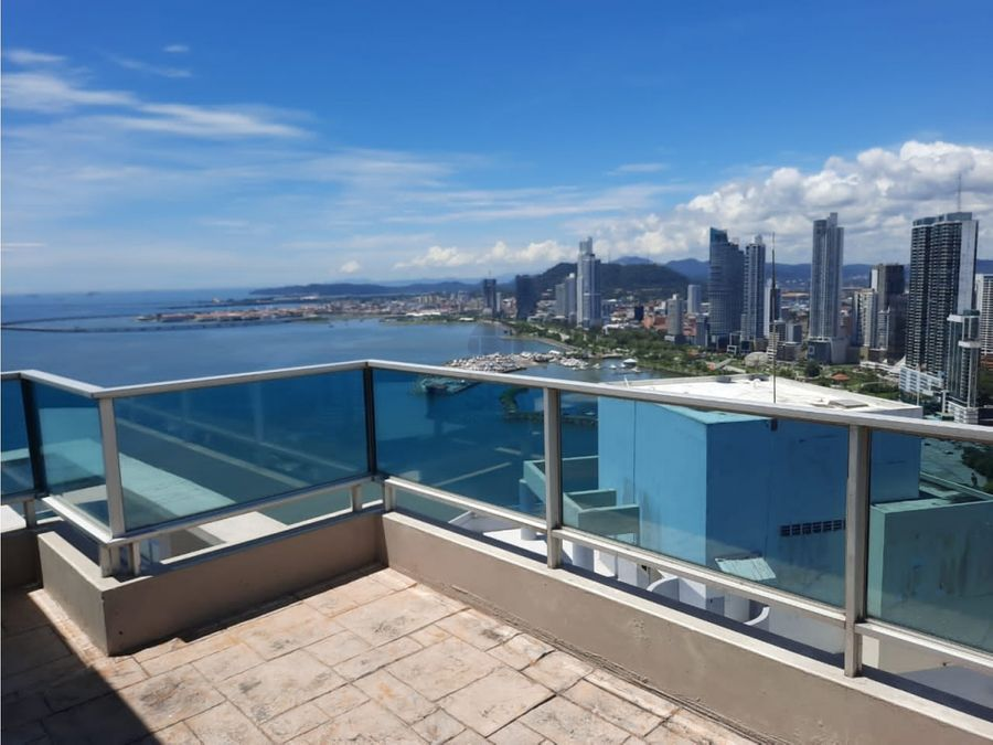 sea confiable alquila ph grand bar con balcon y vista al mar