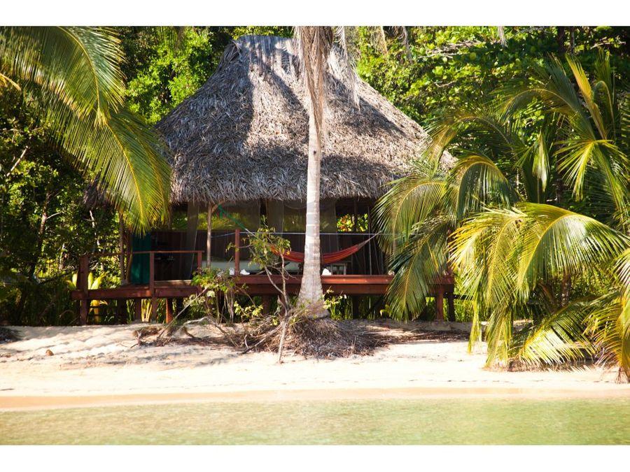 sea confiable vende eco resort con terreno titulado en bocas del toro