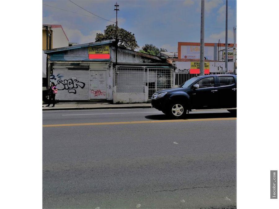 vendo lote comercial calle principal guadalupe
