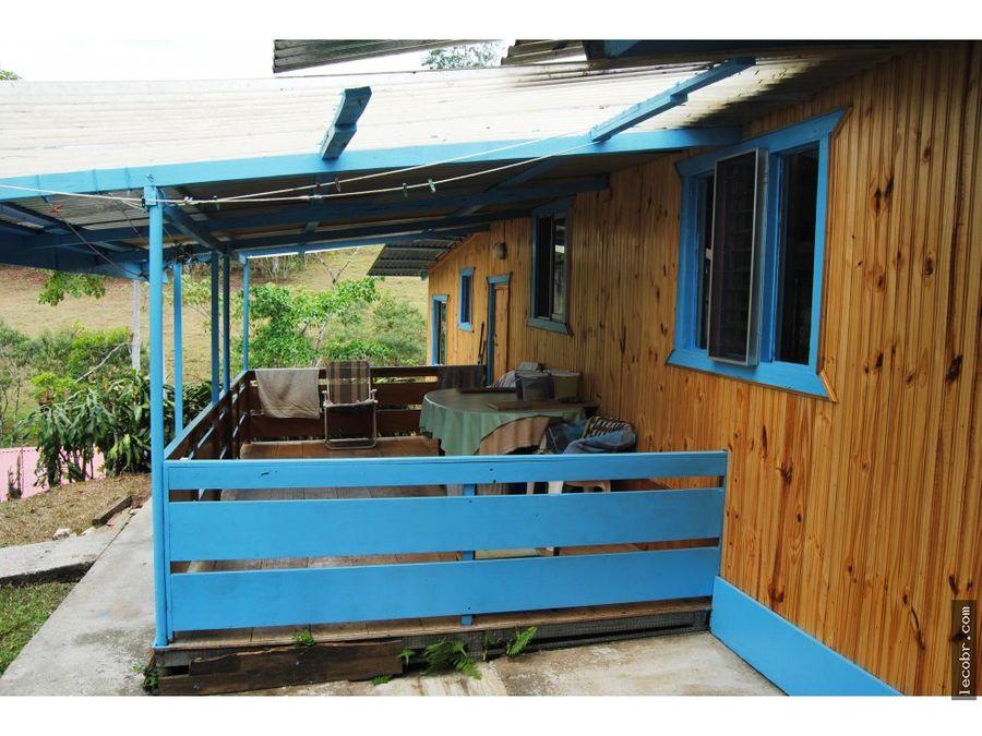 vendo 3 casas en san vito de coto brus en terreno de 2500 m2