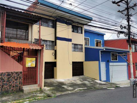 vendo edificio de 4 apartamentos alquilados en guadalupe