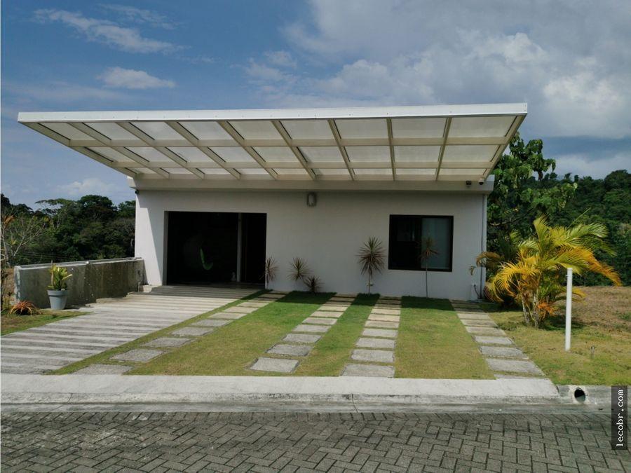 vendo casa en condominio villa leona garabito puntarenas