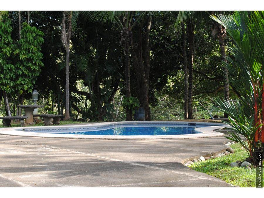 vendo quinta con piscina en orotina