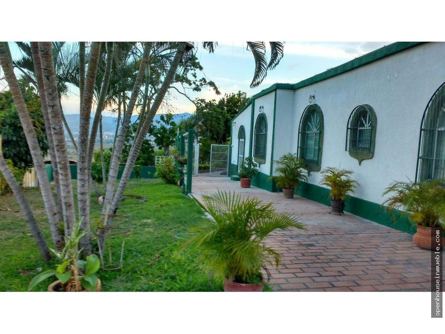 casa la delicias estilo colonial