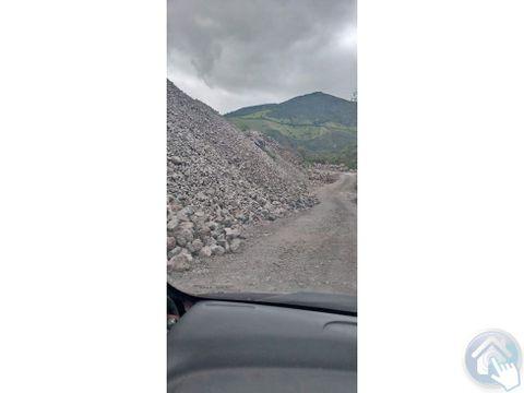 venta de terreno con mina chigue esmeraldas