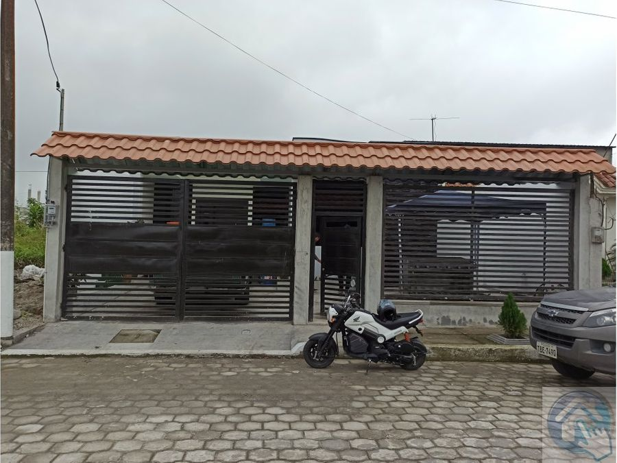 casa nueva por estrenar santo domingo ecuador