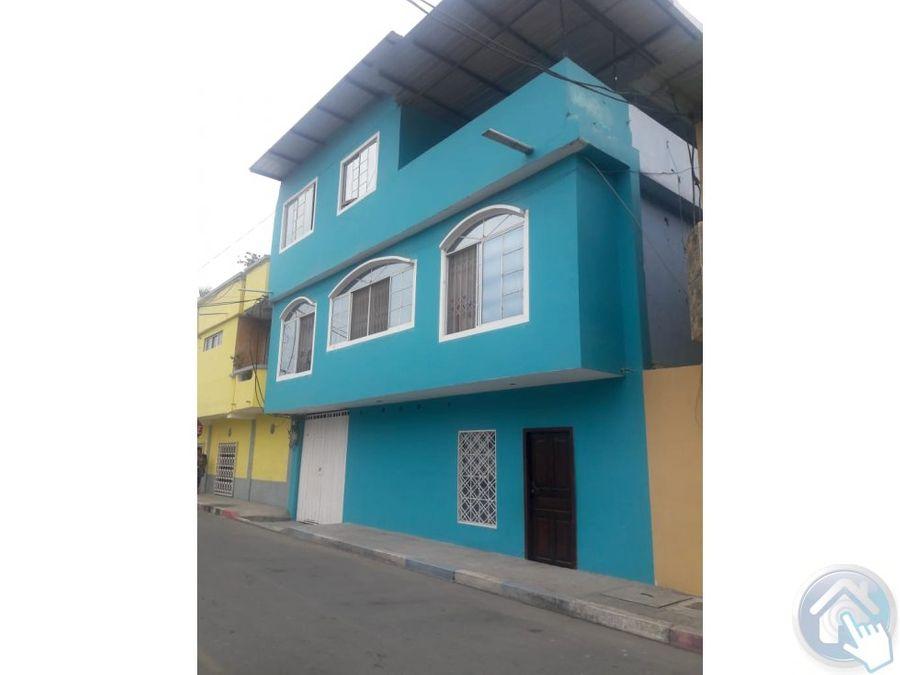 se vende casa rentera al sur de esmeraldas