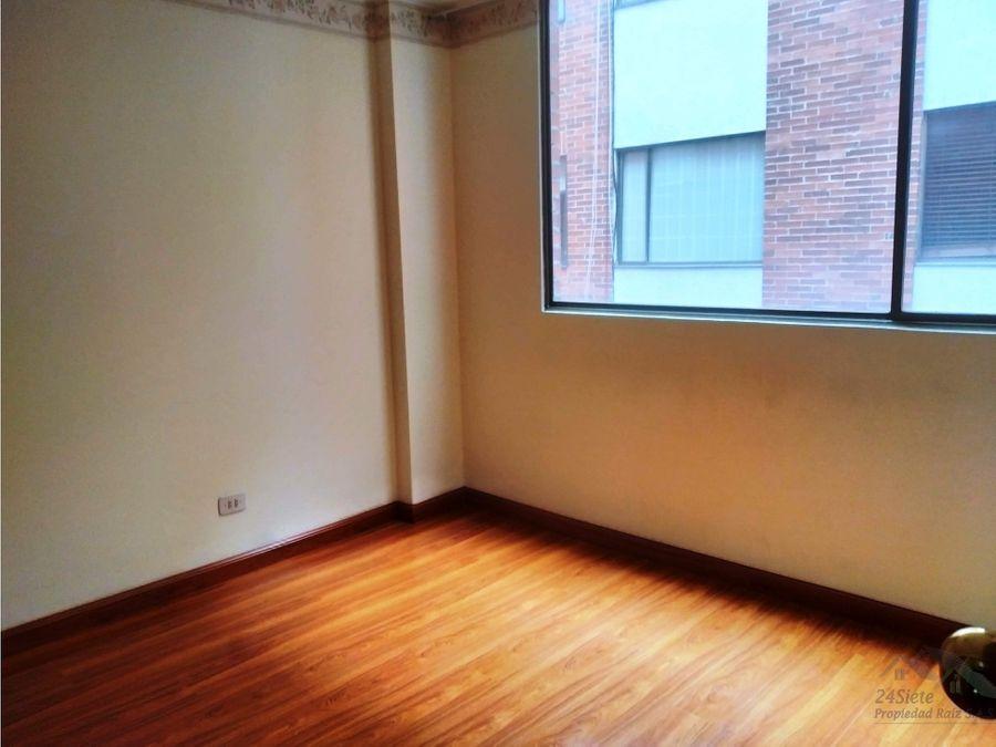 arrendamos en cedritos apartamento en sexto piso edificio agua clara