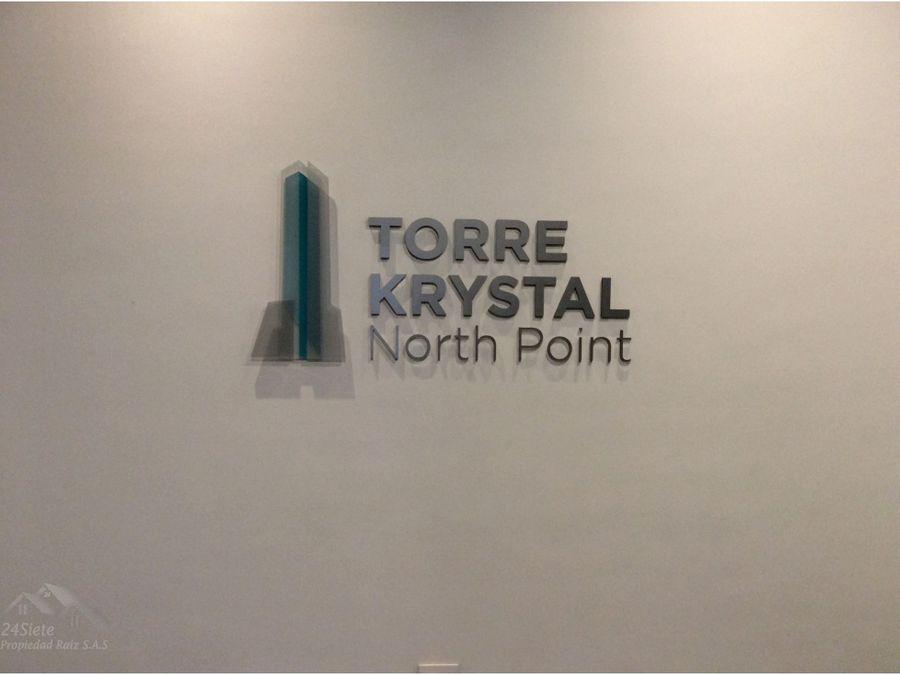 oficina edificio north point torre krystal arriendo