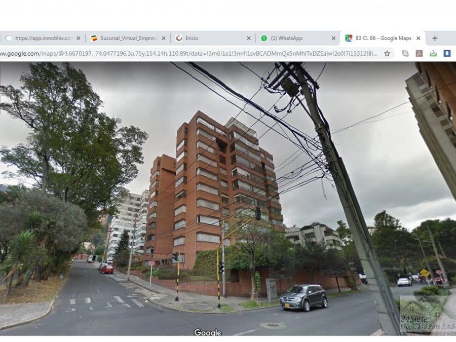 la cabrera arrendamos apartamento edificio los pinos