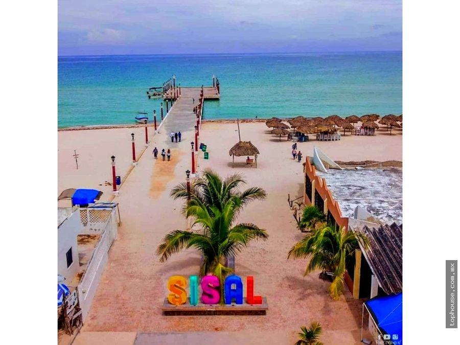venta terrenos playa sisal yucatan para inversion