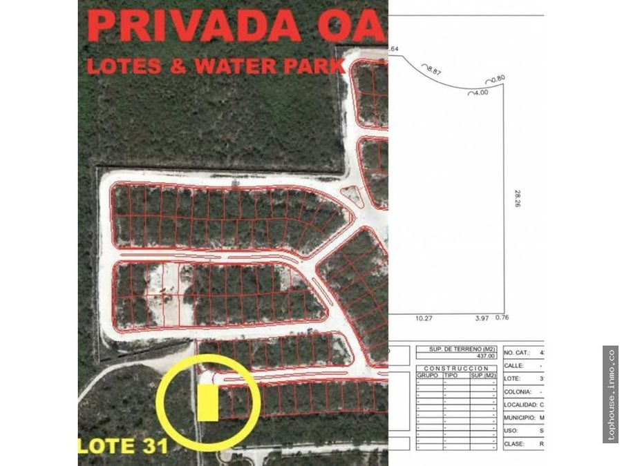 terreno en venta country club merida yucatan