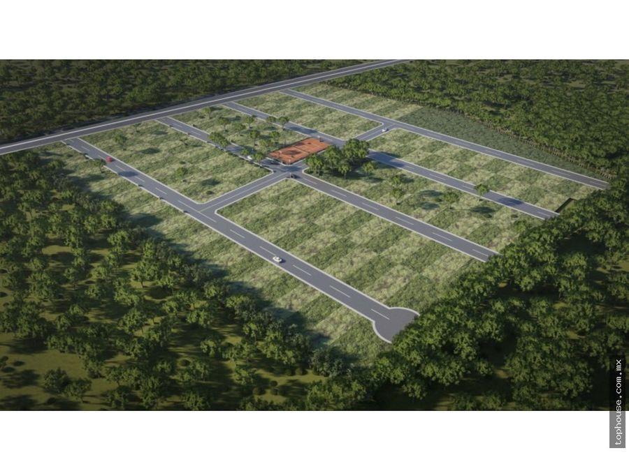 terrenos comerciales urbanizados en municipio conkal merida yucatan