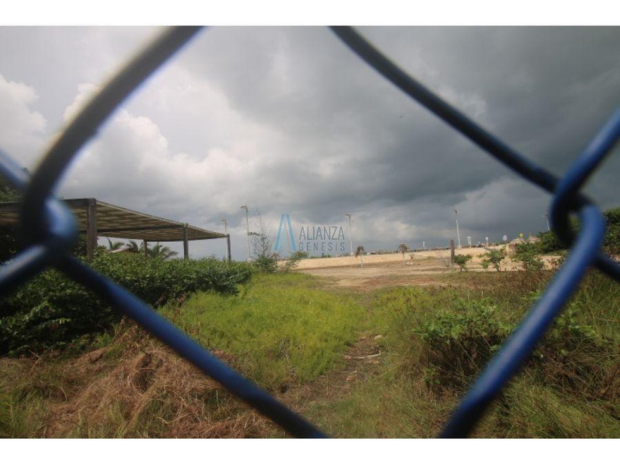 vendo lote vista al mar puerto colombia malecon pradomar