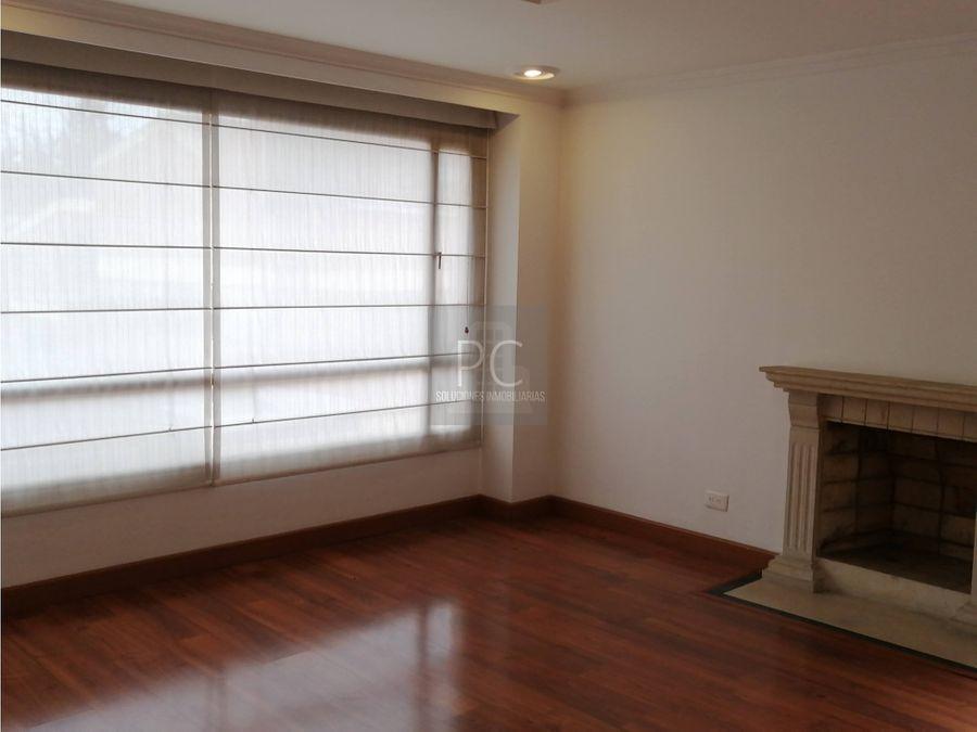 venta de apartamento en san patricio usaquen