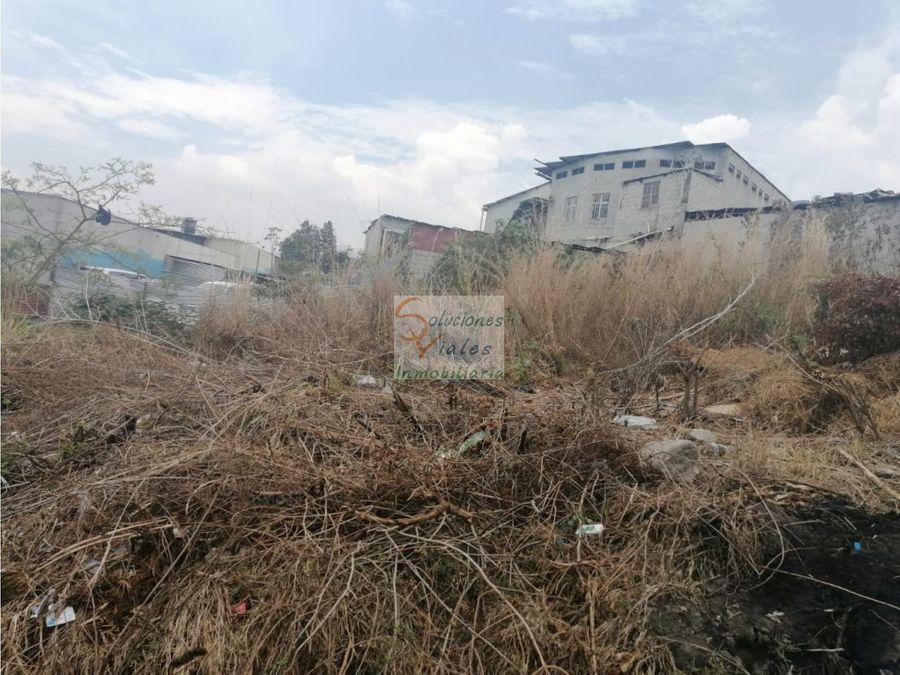 vendo terreno en terrazas zona 8 villa nueva