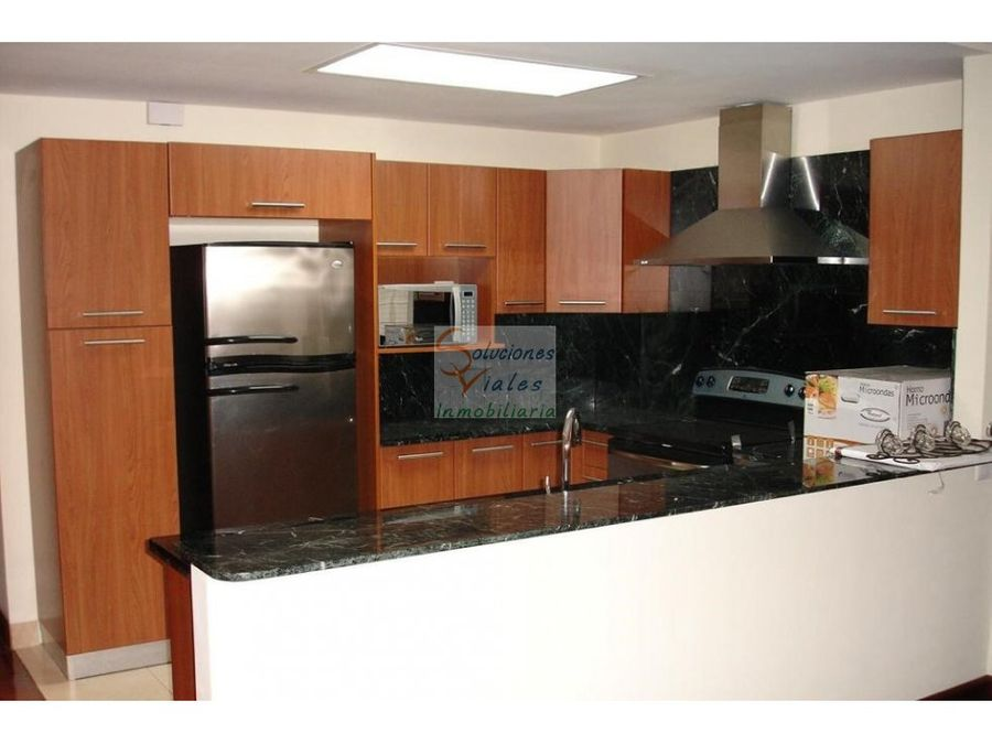 apartamento en renta amueblado y equipado en zona 14