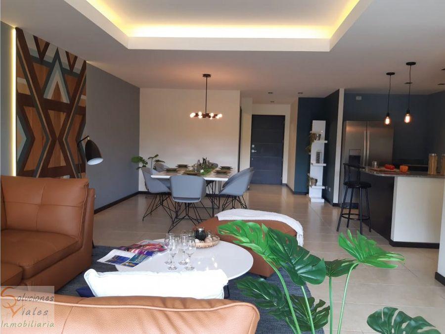 apartamento nuevo de 3 habitaciones zona 11