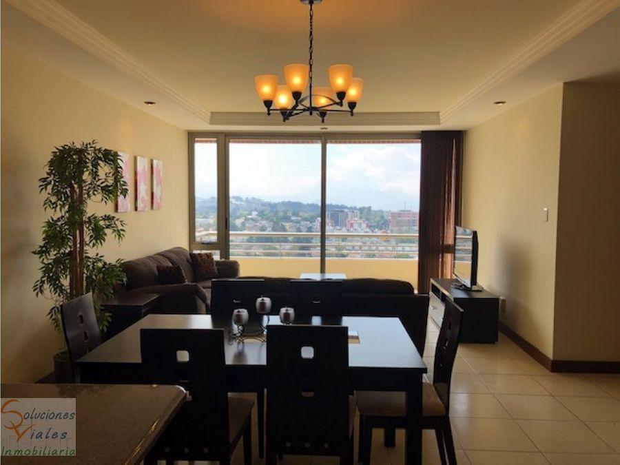rento apartamento amueblado y equipado