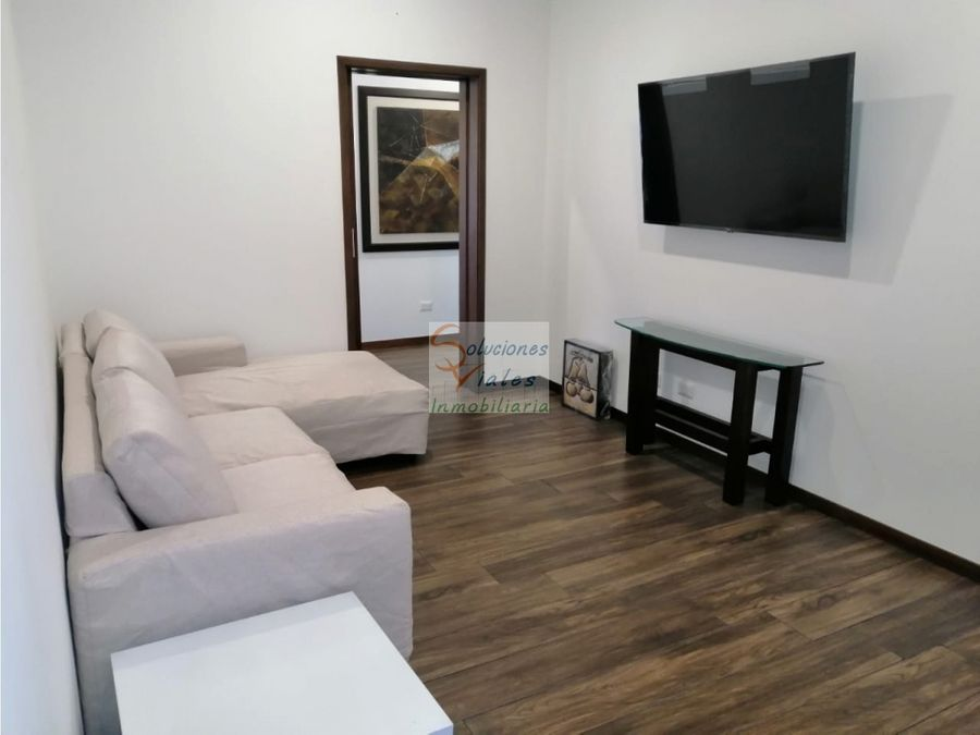 rento apartamento nuevo amueblado y equipado en casa acueducto