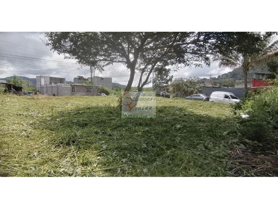 vendo terrenos en residencial los eucaliptos san miguel petapa