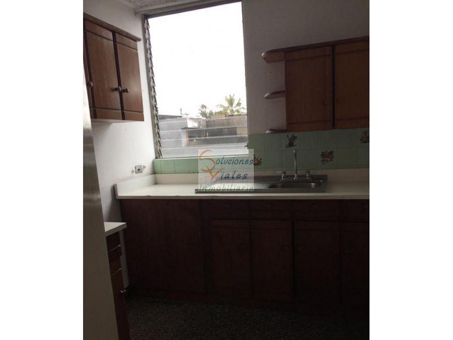 vendo apartamento en edificio residencial v