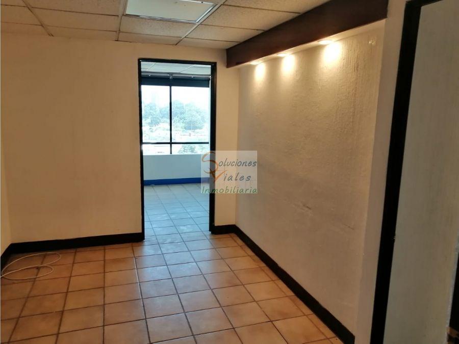 vendo oficina en edificio paladium zona 10