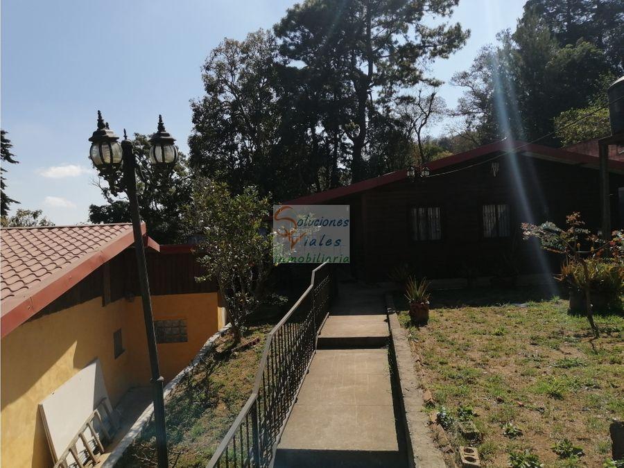 rento casa tipo cabana cerca de antigua guatemala