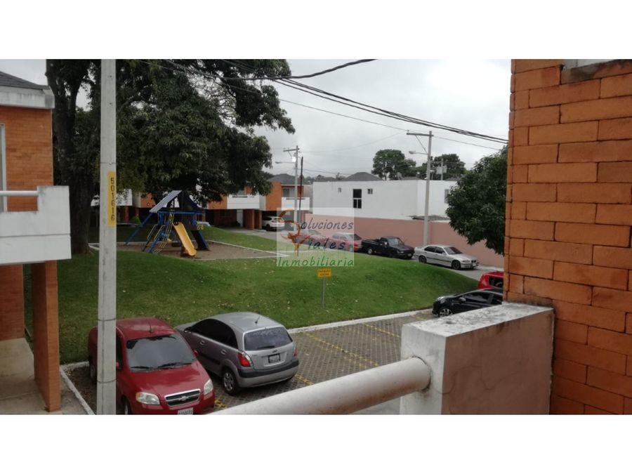vendo casa en condominio en zona 8 de mixco san cristobal