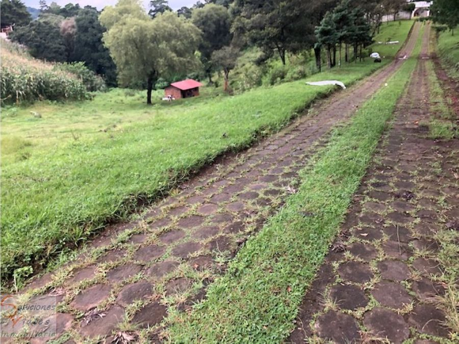vendo terreno en san jose pinula