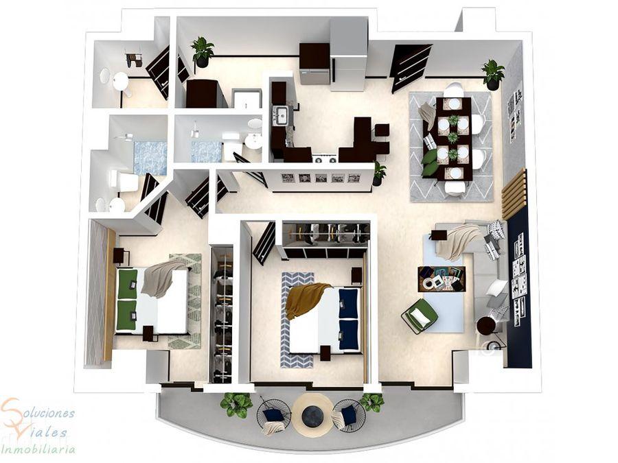 apartamento nuevos en venta mirage las charcas