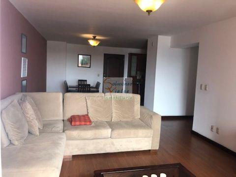 rento apartamento amueblado y equipado zona 14