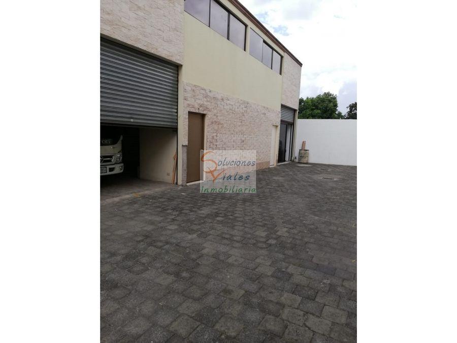 rento ofibodega en zona 14 sector la villa