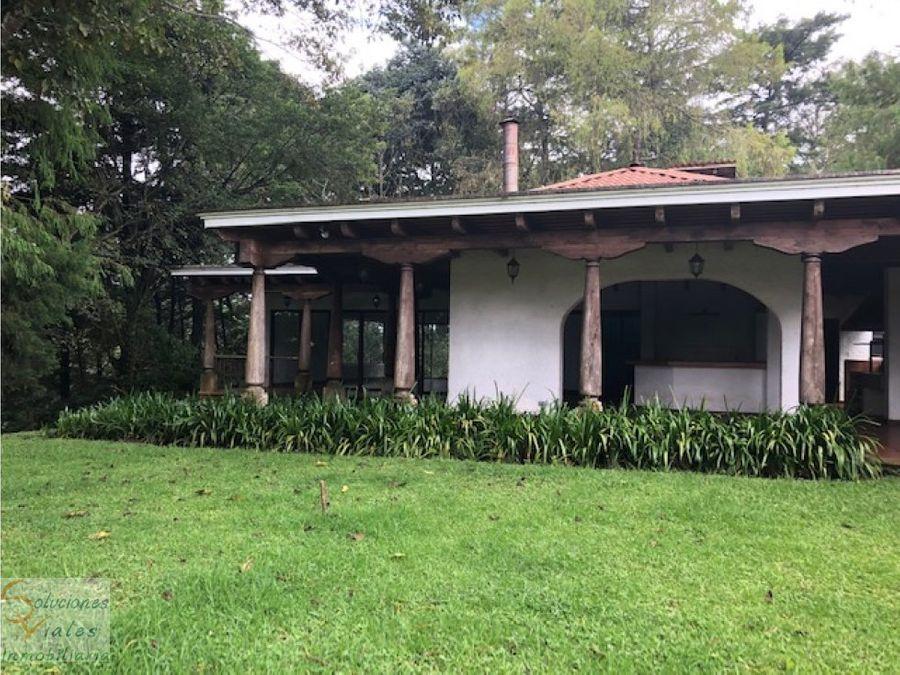 terreno y casa en venta en san jose pinula