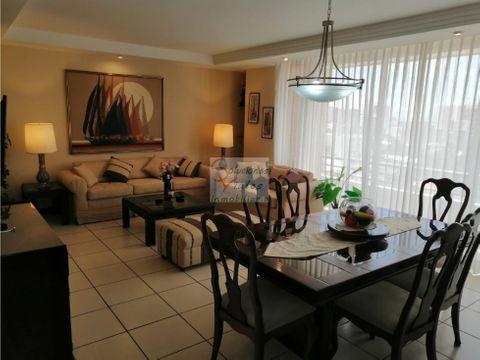 rento apartamento full amueblado y equipado en jardines de acueducto
