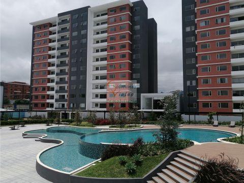 rento apartamento nuevo en segheria zona 14