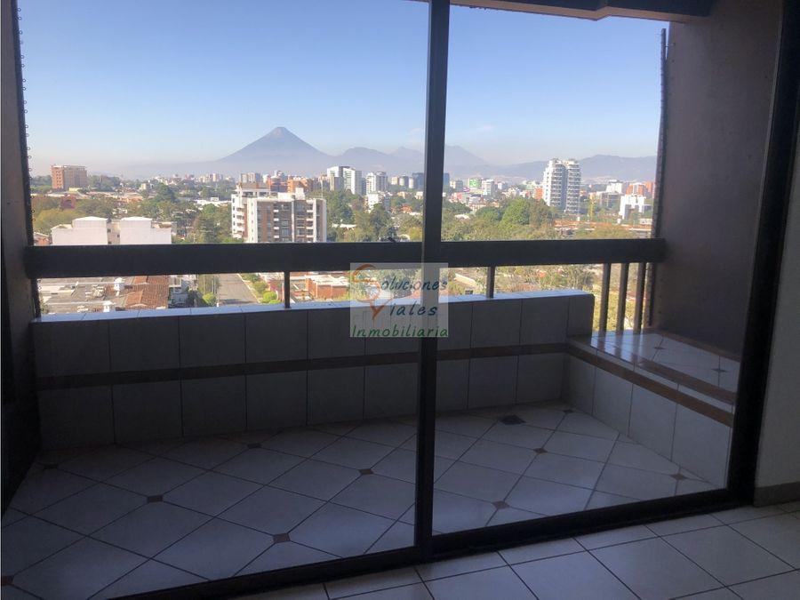 rento apartamento en vista hermosa 2 zona 15