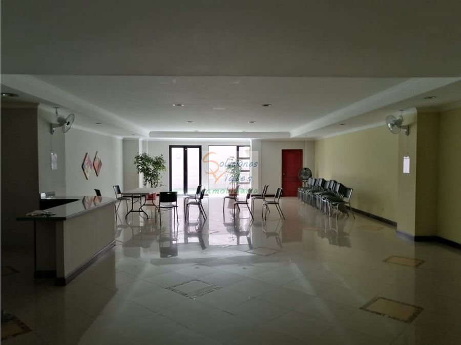 rento apartamento de 3 habitaciones en bellini zona 14