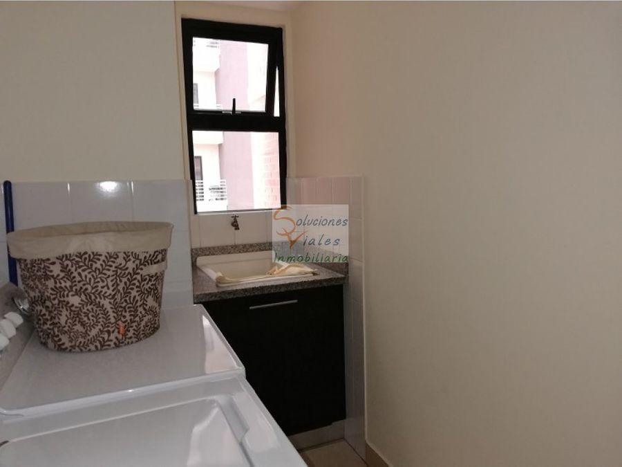 apartamento amueblado y equipado en renta zona 14