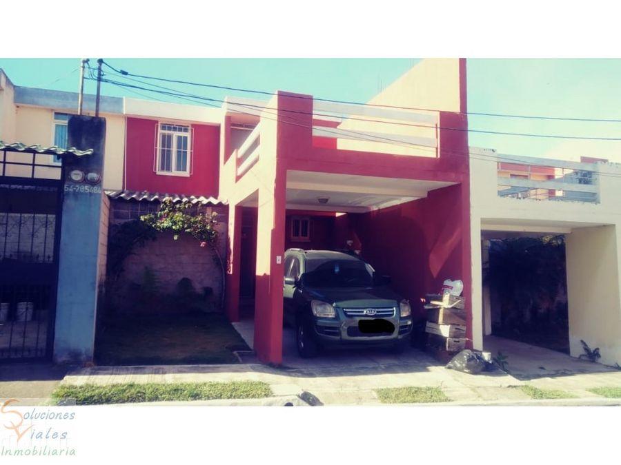 vendo casa en residenciales naciones unidas 2 villa nueva