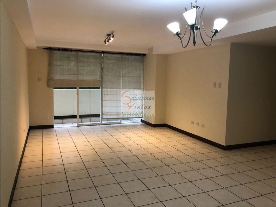 rento apartamento en villas de san isidro zona 16