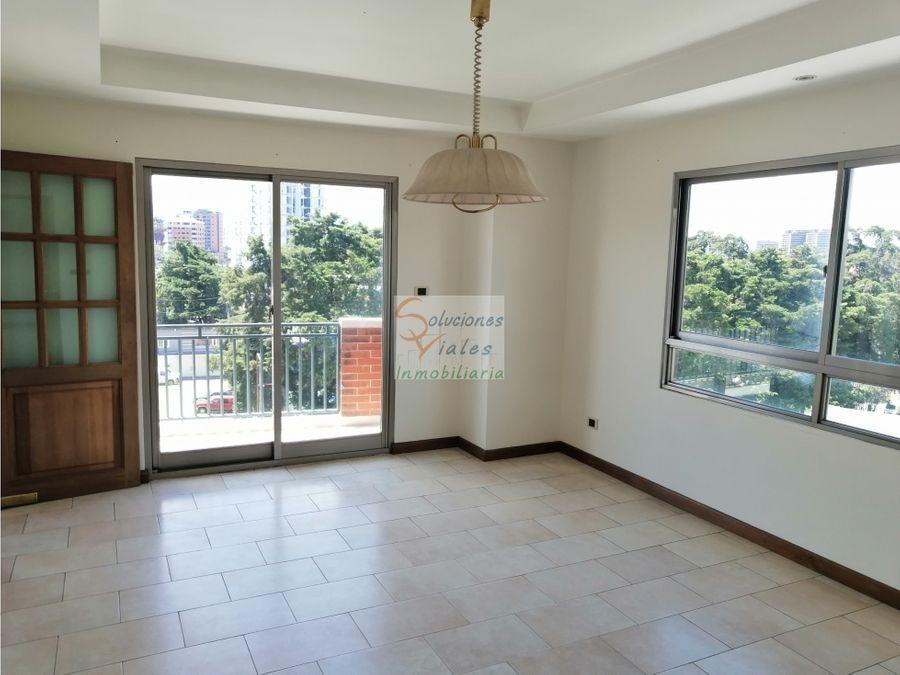 vendo amplio apartamento en zona 10