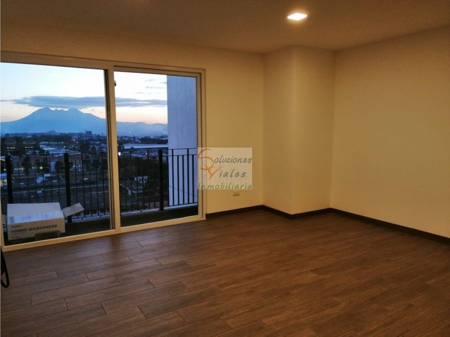 rento apartamento nuevo en edificio vistares zona 12