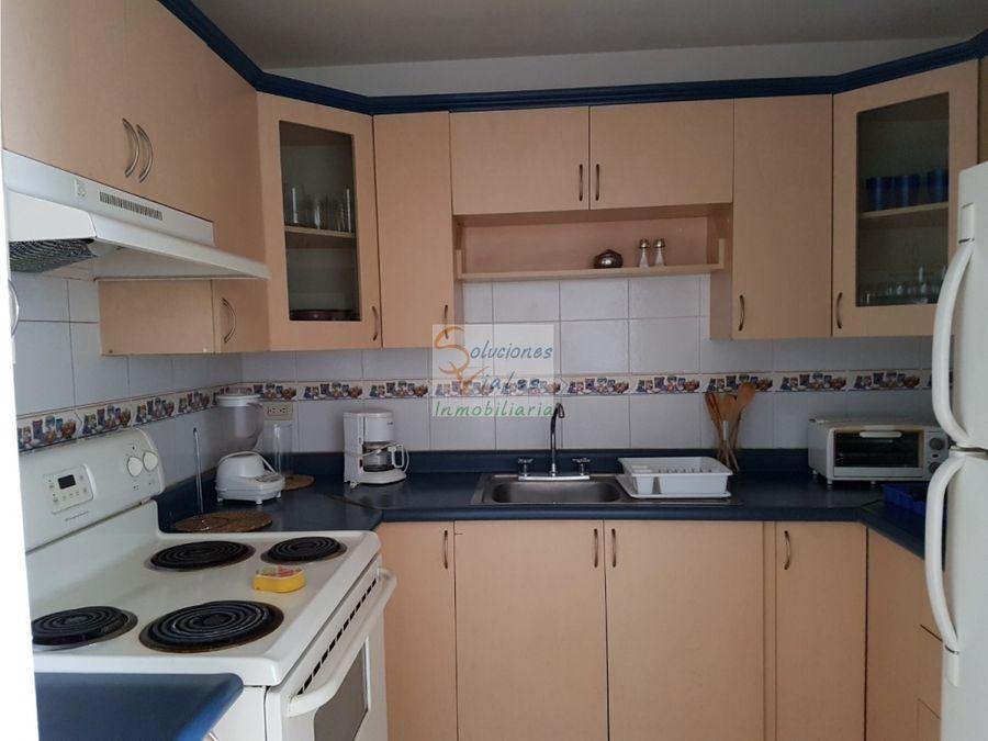 rento apartamento amueblado y equipado en zona 14