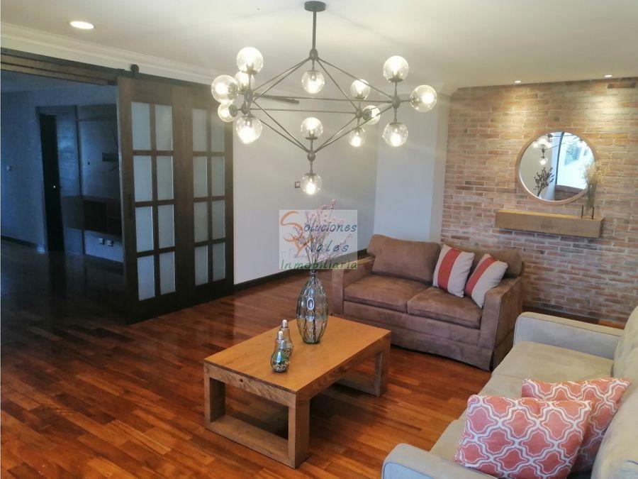 rento apartamento amueblado y equipado en zona 10