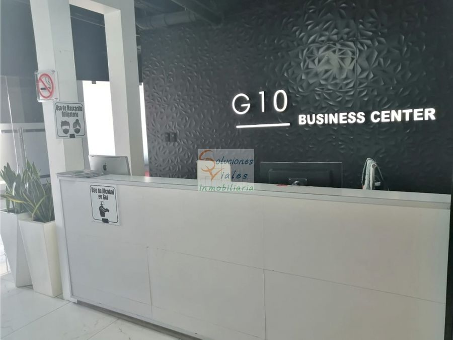 se rentan oficinas privadas amuebladas co working zona 10